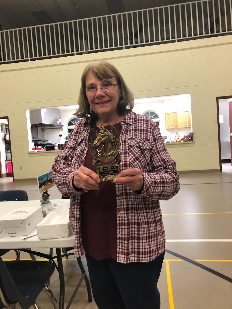 Congratulations Mary Baker! Knox County OHC Volunteer of the year 2019